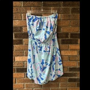 Lilly Pulitzer Strapless Mini Dress